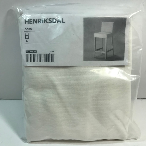 Admirable Ikea Henriksdal Grasbo White Chair Slip Cover New Nwt Gmtry Best Dining Table And Chair Ideas Images Gmtryco